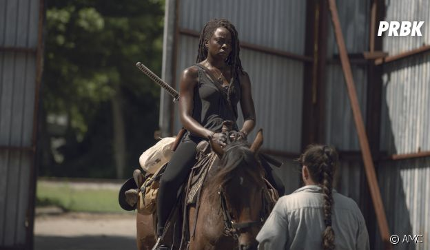 The Walking Dead saison 9 : Michonne sur une photo de l'épisode 6