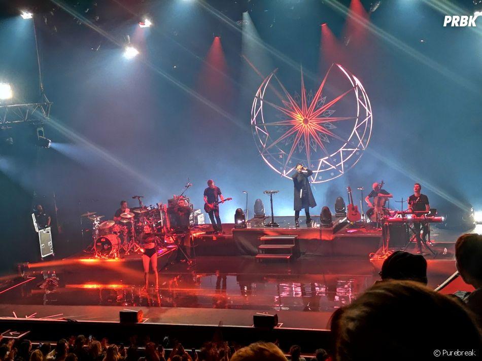 Slimane en concert à Paris :