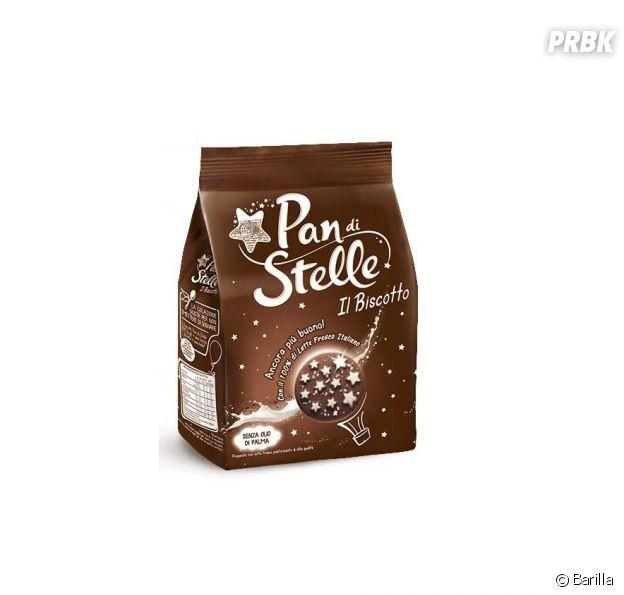 Les biscuits Pan di Stelle de Barilla.
