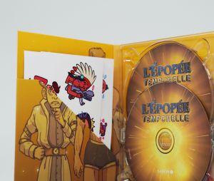 Cyprien dévoile un coffret collector sublime de L'Epopée Temporelle, sa série audio