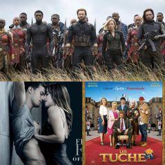Avengers 3, Les Tuche 3, Fifty Shades Freed... quel est le meilleur film de 2018 ? Votez !
