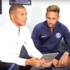 Kylian Mbappé : célibat, reprise de Naza, floss... Il se lâche en vidéo avec Neymar