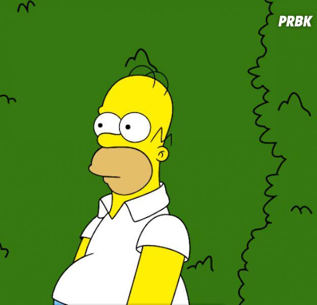 Les Simpson : Homer utilise un cultissime GIF de lui-même dans une scène déjà culte