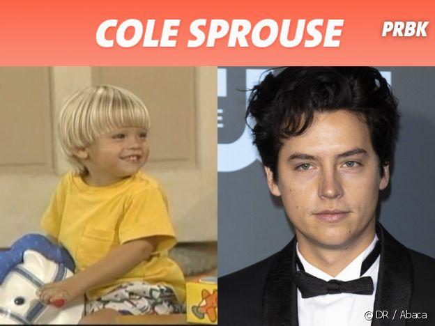 Cole Sprouse dans son premier rôle VS aujourd'hui