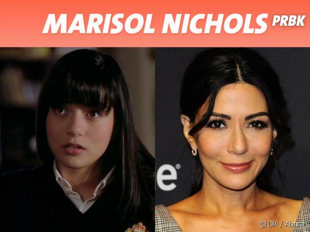 Marisol Nichols dans son premier rôle VS aujourd'hui