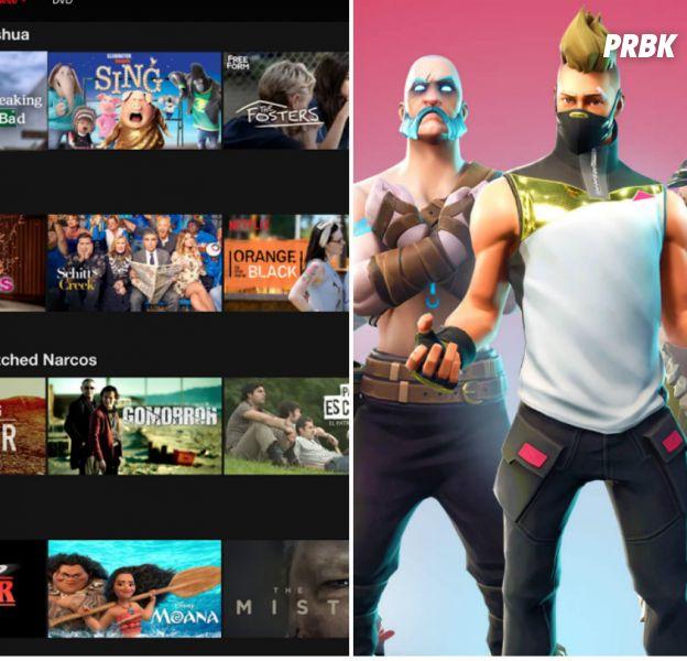 Netflix craint Fortnite et le voit comme un vrai concurrent