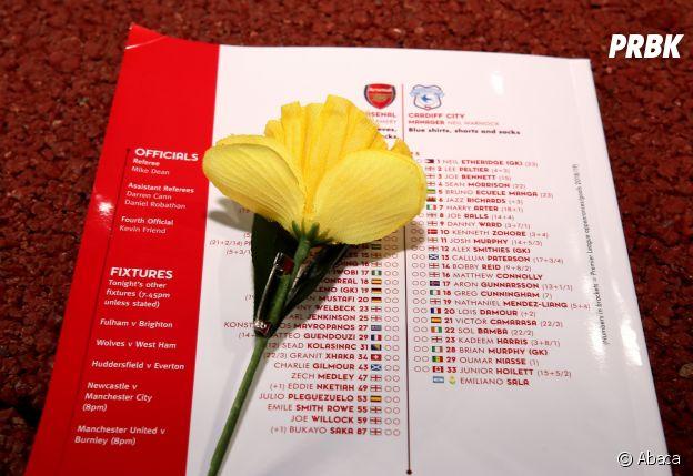 Disparition d'Emiliano Sala : au match Arsenal-Cardiff, les joueurs et les supporters lui ont rendu hommage, et feront de même pour la rencontre Nantes - Saint-Etienne.