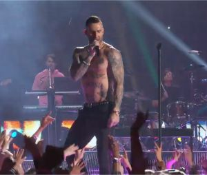 Super Bowl 2019 : la prestation de Maroon 5 (à partir de 2mn50)