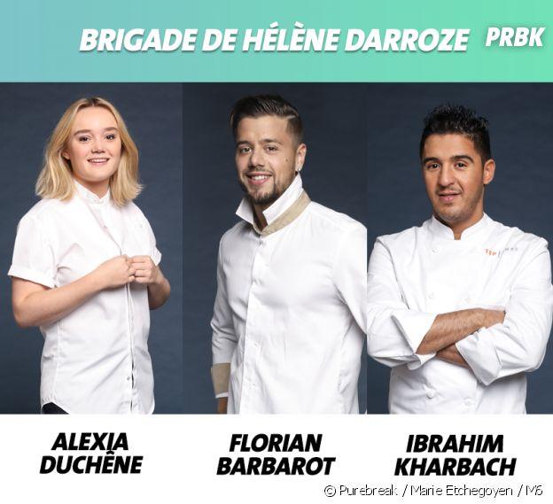 Top Chef 2019 : la brigade de Hélène Darroze