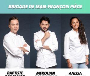 Top Chef 2019 : la brigade de Jean-François Piège