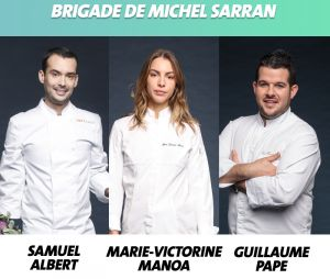 Top Chef 2019 : la brigade de Michel Sarran
