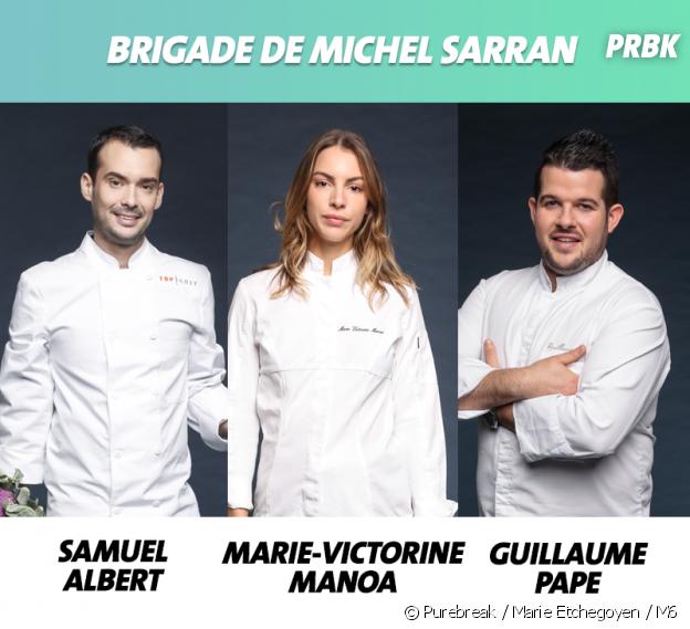 Top Chef 2019 : la brigade de Michel Sarran
