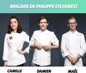Top Chef 2019 : la brigade de Philippe Etchebest