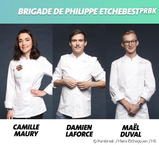 Top Chef 2019 : la brigade de Philippe Etchebest