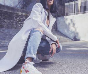 "Cardi B pour Reebok : bracelets ""slap on"", fax, Macarena... La campagne en mode années 1990"