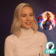 Captain Marvel : Brie Larson raconte les galères avec son costume (Interview)