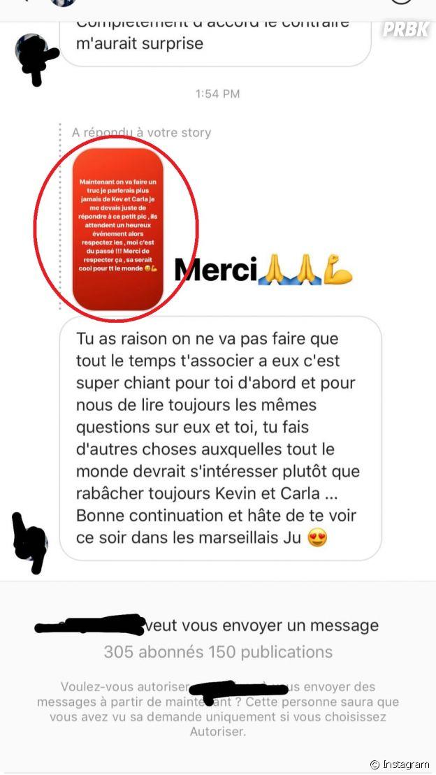 Julien Bert (Les Marseillais Asian Tour) gaffe et confirme que Carla serait enceinte de Kévin.