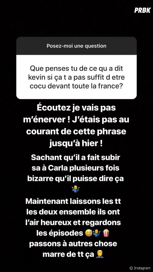 """Julien Bert """"cocu devant toute la France"""" : il ne savait pas que Kévin avait dit ça"""