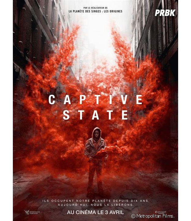 Captive State : l'affiche du film.