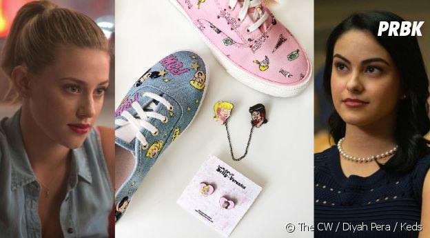 Betty Cooper (Lili Reinhart) et Veronica Lodge (Camila Mendes) sont les stars d'une collection de sneakers Riverdale !