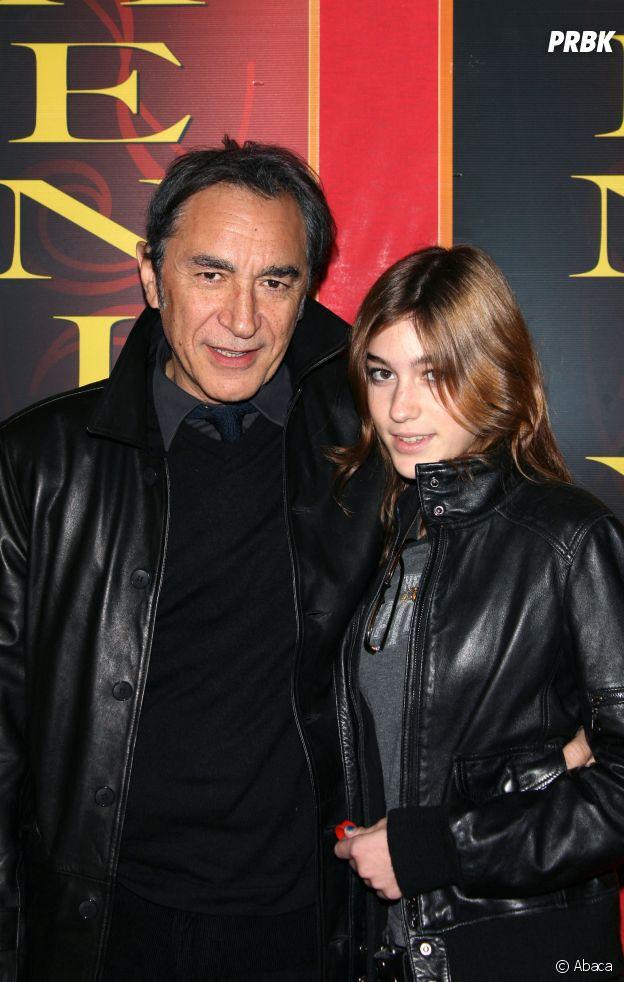 Joséphine Berry et son père Richard Berry