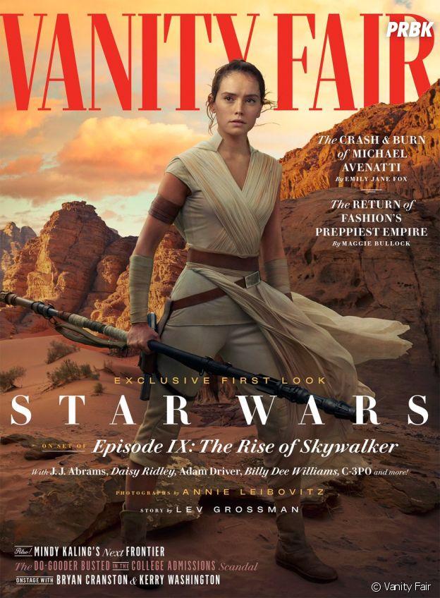 Star Wars 9 : la couverture dédiée à Rey pour Vanity Fair