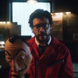 La Casa de Papel saison 3 : le Professeur annonce une vengeance dans un teaser intense