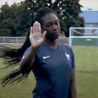 """""""Sélection féminine"""" : la rappeuse Juste Shani dévoile son hymne pour les Bleues"""