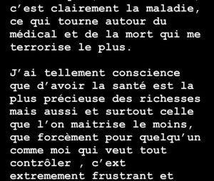 """Caroline Receveur terrorrisée par la mort et la maladie : """"Je suis désemparée """""""