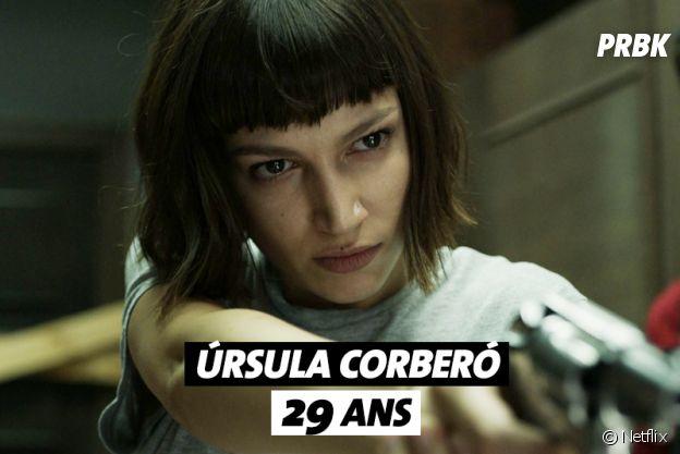 La Casa de Papel : quel âge a Ursula Corbero ?