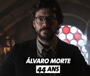 La Casa de Papel : quel âge a Alvaro Morte ?