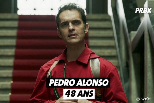 La Casa de Papel : quel âge a Pedro Alonso ?