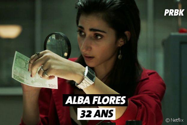 La Casa de Papel : quel âge a Alba Flores ?