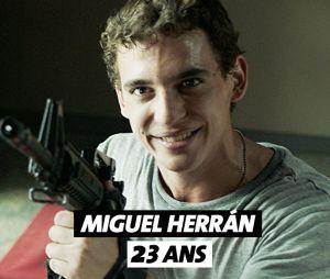 La Casa de Papel : quel âge a Miguel Herran ?
