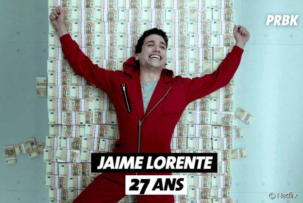 La Casa de Papel : quel âge a Jaime Lorente ?
