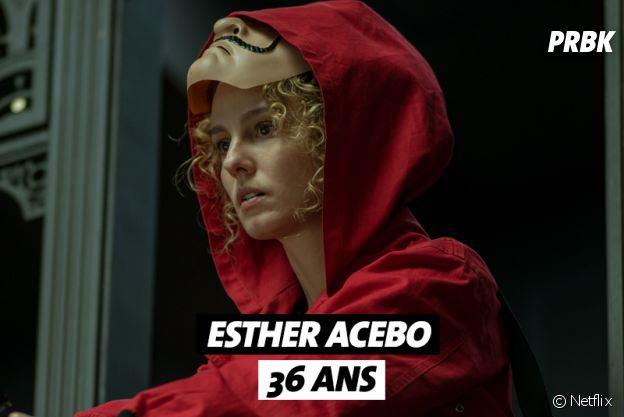 La Casa de Papel : quel âge a Esther Acebo ?