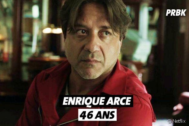 La Casa de Papel : quel âge a Enrique Arce ?