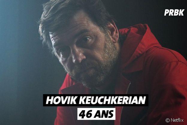 La Casa de Papel : quel âge a Hovik Keuchkerian ?