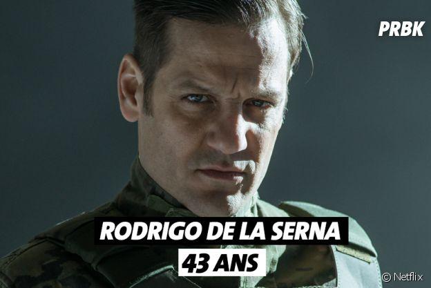 La Casa de Papel : quel âge a Rodrigo de la Serna ?