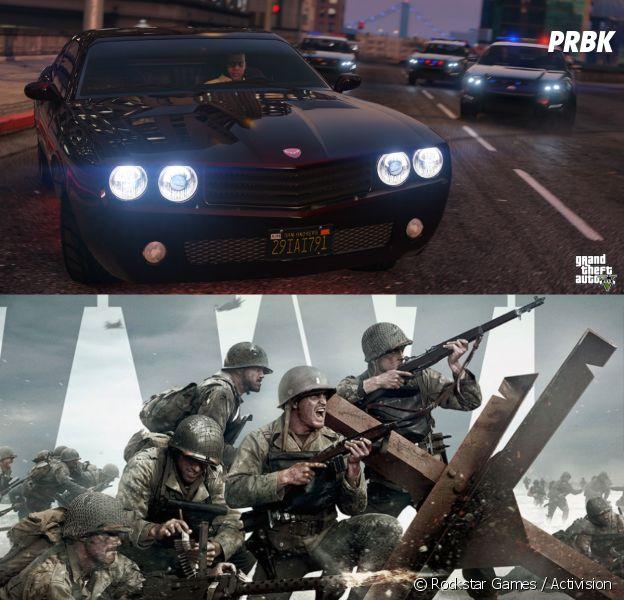 GTA 5 (GTA V) et la saga Call of Duty explosent le top 10 des jeux vidéo les plus vendus au monde