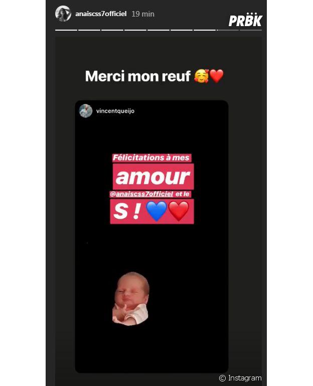 Vincent Queijo félicite Anaïs Camizuli