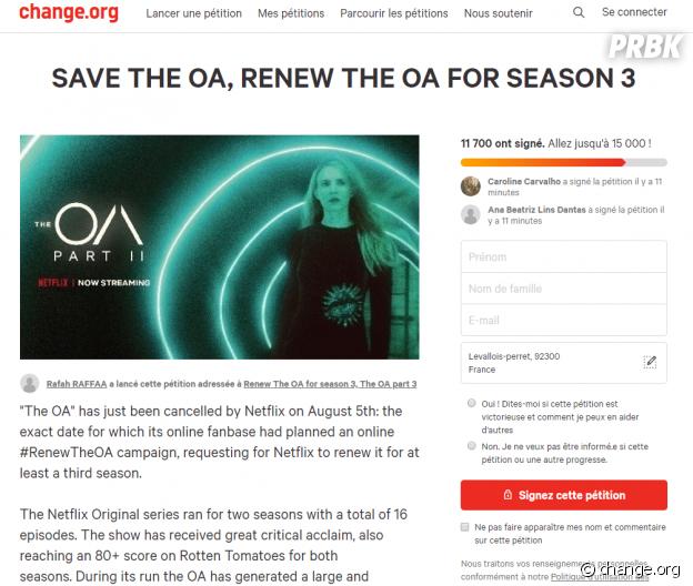 The OA annulée par Netflix : les fans lancent une pétition pour sauver la série