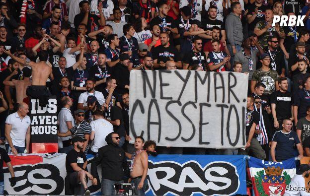 Neymar insulté par des supporters du PSG