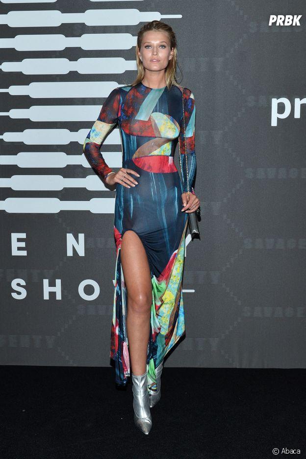 Toni Garn au défilé lingerie Savage x Fenty