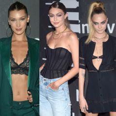 Bella Hadid, Gigi Hadid, Cara Delevingne... Pluie de stars au défilé de lingerie de Rihanna