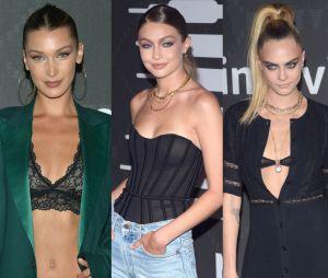 Bella Hadid, Gigi Hadid, Cara Delevingne... Pluie de stars au défilé de lingerie de Rihanna pour la marque Savage x Fenty