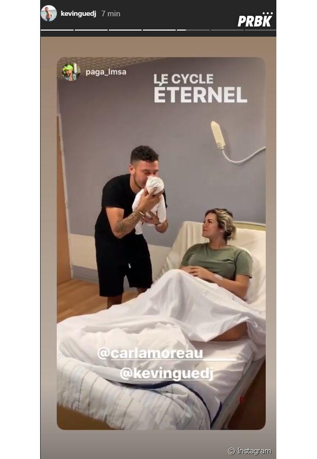 Carla Moreau et Kevin Guedj parents : les Marseillais dévoilent des photos de leur bébé