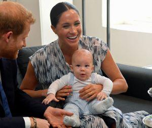 Meghan Markle, le Prince Harry et leur fils Archie en septembre 2019