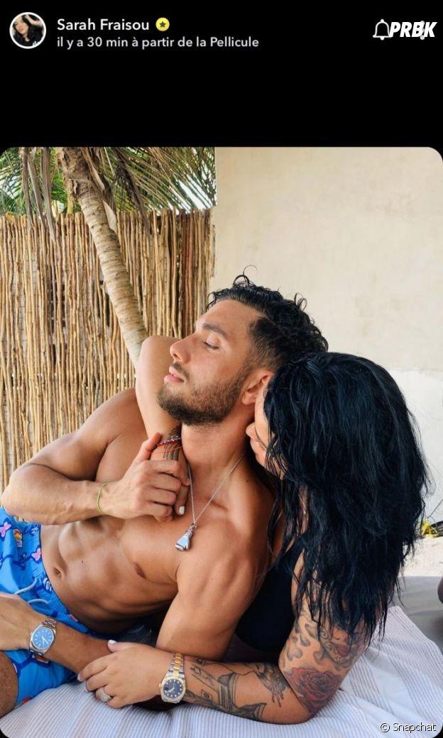Sarah Fraisou s'affiche avec son nouveau petit ami Ahmed