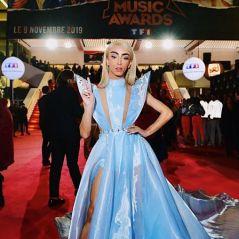 Bilal Hassani (NMA 2019) en robe de princesse sur le tapis rouge, Twitter sous le charme